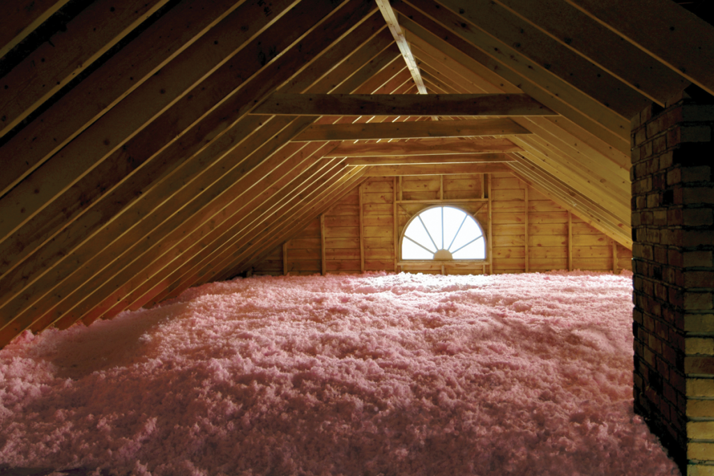 Owens Corning's Living Product, an innovative, eco-friendly insulation.