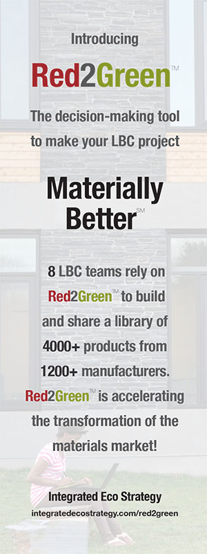 Integrated Eco Strategy Red2Green ad