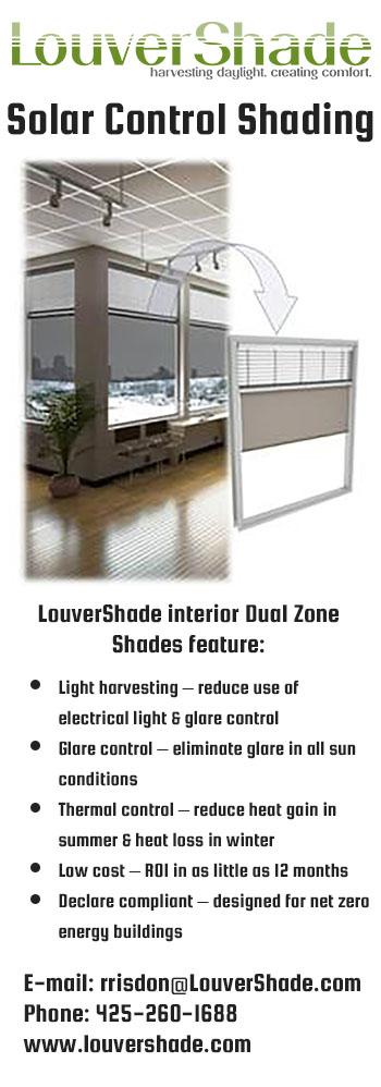 LouverShade Solar Control Shading ad